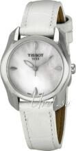Tissot Biały/Skóra Ø28.2 mm