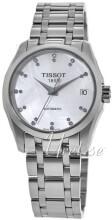 Tissot Biały/Stal Ø32 mm