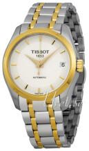 Tissot Couturier Automatic Lady Biały/Stal w odcieniu złota Ø32