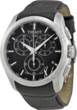 Tissot T-Trend Couturier Czarny/Skóra Ø41 mm