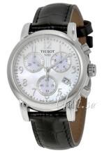 Tissot T-Classic DressSport Biały/Skóra