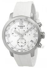 Tissot T-PRC Biały/Guma Ø45 mm