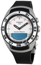 Tissot T-Sport Sailing-Touch Srebrny/Guma Ø45 mm