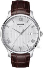 Tissot Tradition Gent Srebrny/Skóra Ø42 mm
