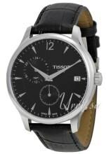 Tissot T-Classic Tradition GMT Czarny/Skóra