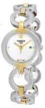 Tissot T-Trend Biały/Stal w odcieniu złota Ø28 mm