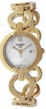 Tissot Pinky Biały/Stal w odcieniu złota Ø30 mm