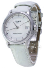 Tissot Luxury Biały/Skóra Ø33 mm