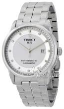 Tissot Luxury Automatic Gent Cosc Biały/Stal Ø41 mm