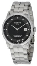 Tissot Couturier Automatic Small Second Czarny/Stal Ø41 mm