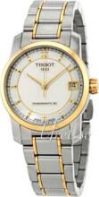 Tissot Tissot T-Classic Srebrny/Stal w odcieniu złota Ø32 mm