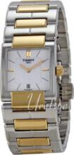 Tissot Tissot T-Trend Biały/Stal w odcieniu złota 31x23 mm