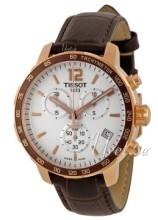 Tissot Tissot T-Sport Srebrny/Skóra Ø42 mm