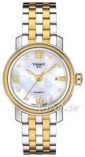 Tissot T-Lady Bridgeport Automatic Lady Biały/Stal w odcieniu zł