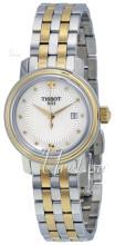 Tissot T-Lady Bridgeport Quartz Lady Biały/Stal w odcieniu złota