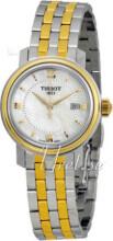 Tissot T-Classic PR 100 Lady Biały/Stal w odcieniu złota Ø29 mm