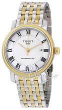 Tissot Bridgeport Powermatic 80 Gent Srebrny/Stal w odcieniu zło