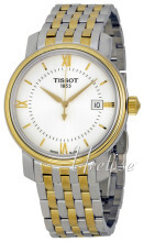 Tissot Bridgeport Quartz Gent Srebrny/Stal w odcieniu złota Ø40