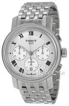 Tissot Bridgeport Automatic Chronograph Srebrny/Stal Ø42 mm