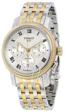 Tissot Bridgeport Automatic Chronograph Srebrny/Stal w odcieniu
