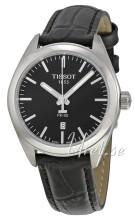 Tissot T-Classic Bridgeport Czarny/Skóra Ø33 mm