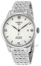 Tissot Le Locle Double Happiness Gent Srebrny/Stal Ø39.3 mm