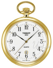 Tissot T-Pocket Lepine Quartz Biały Ø48.68 mm
