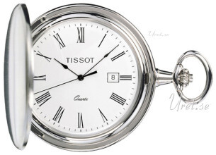 Tissot T-Pocket Savonnette Quartz Biały Ø47.5 mm
