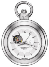Tissot T-Pocket Pendant 1920 Mechanical Srebrny Ø28.5 mm