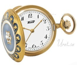 Tissot T-Pocket Pendant 1878 160Th Anniversary Biały Ø30.3 mm