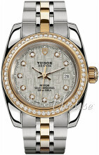 Tudor Classic Date Srebrny/18 karatowe żółte złoto
