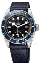 Tudor Heritage Blue Bay Czarny/Skóra Ø41 mm