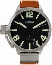 U-Boat Classico Czarny/Skóra