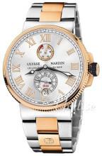 Ulysse Nardin Marine Collection Srebrny/18 karatowe różowe złoto