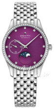 Zenith Elite Ultra Thin Purpurowy/Stal